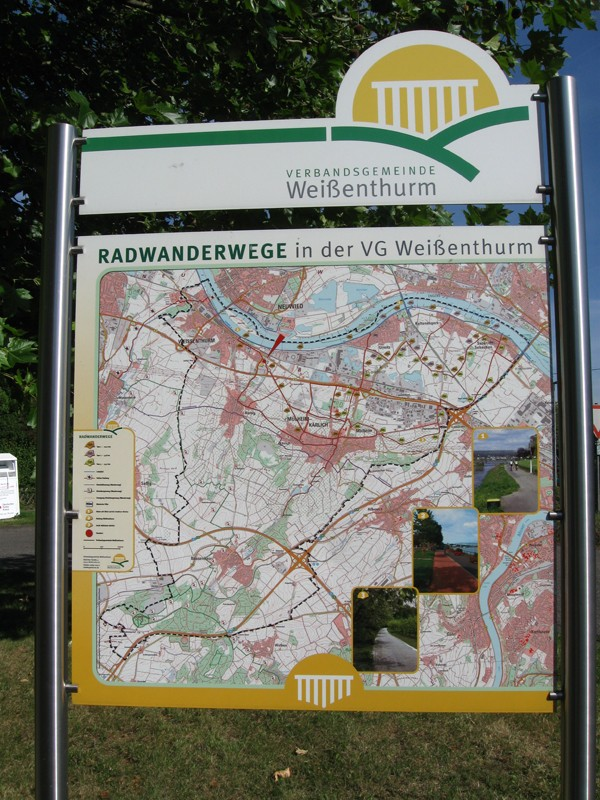 Im Schatten des Kernkraftwerks - oder: eine Fahrradtour durch die Verbandsgemeinde Weißenthurm (Autorin: Petra Müller)