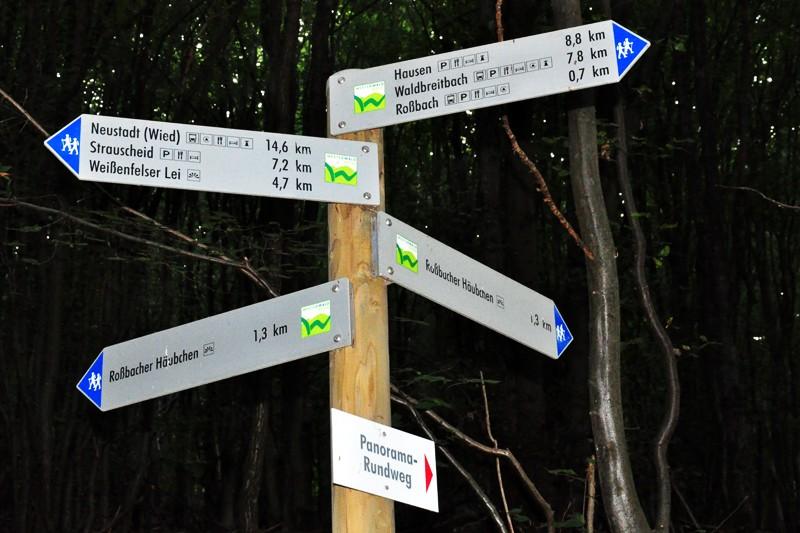 """Over the Hills and Far Away"" - oder: der ""Basaltbogen"" bei Roßbach/Wied"