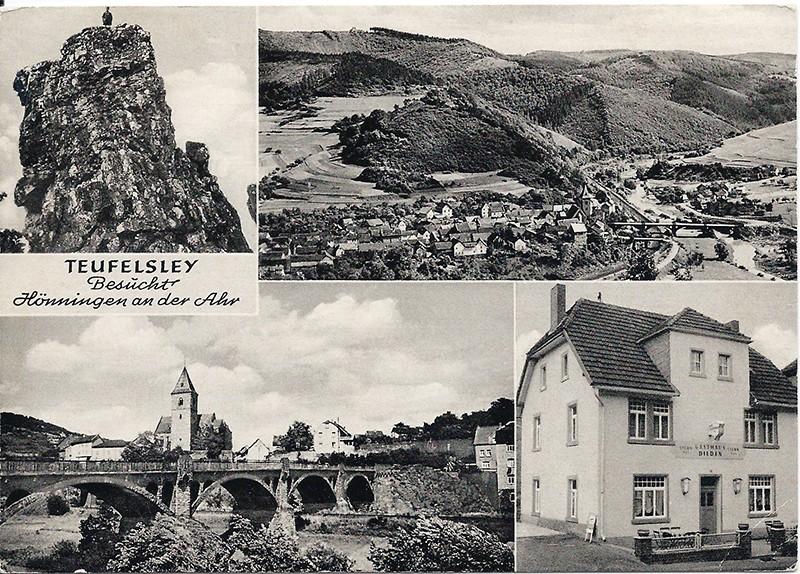 Nichts bleibt, wie es war - oder: die Teufelsley bei Hönningen