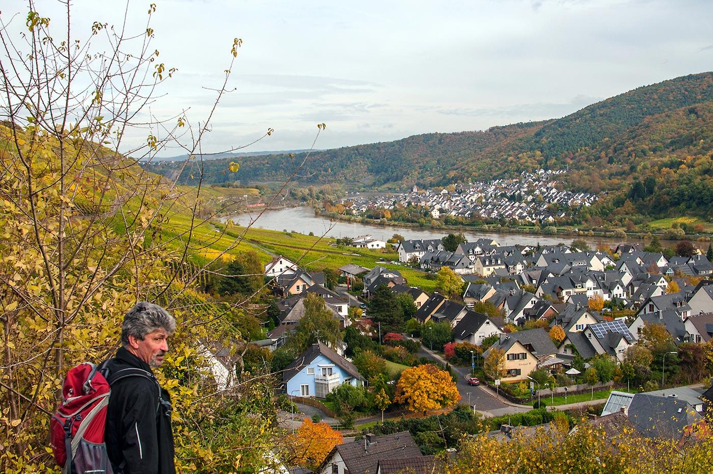 """Burgen, Berge, Moselblicke - oder: der """"Moselsteig"""" (Etappe 23: Kobern-Gondorf - Winningen)"""