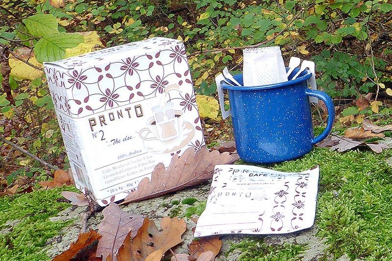 Pronto Café Filterkaffee für unterwegs
