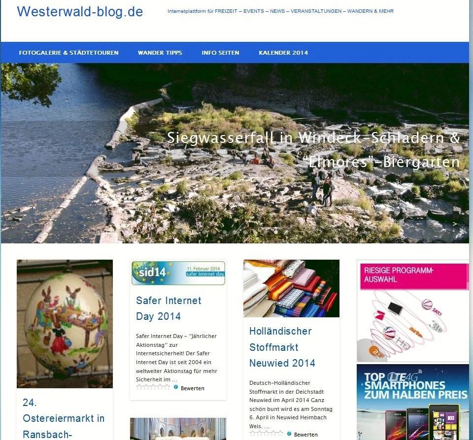 Westerwaldblog Screenshot