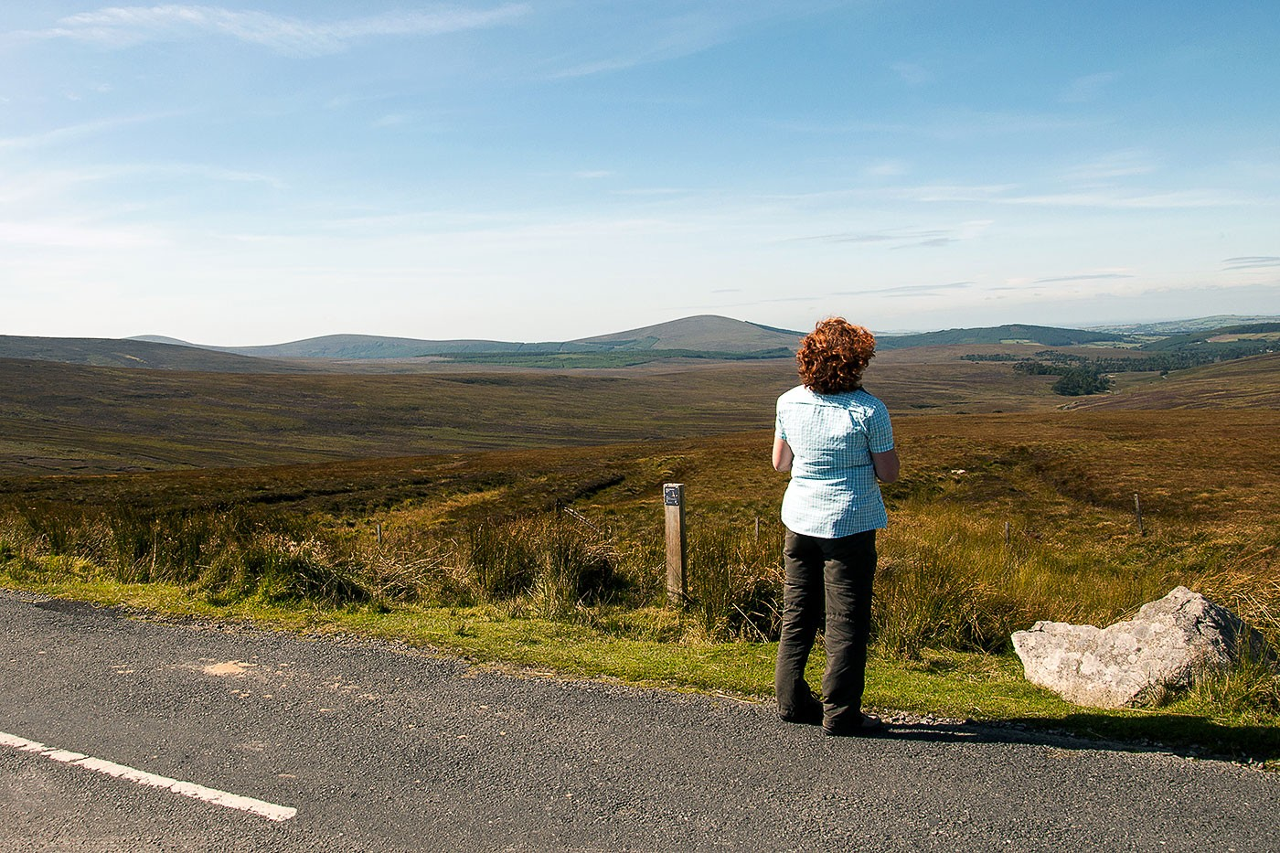 »There's more to the picture than meets the eye« - oder: The Wicklow Way + The Old Military Road + Bray (Irland - der Donnerstag)
