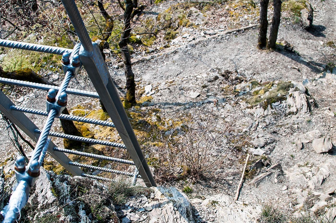 Klettersteig Ardennen : Klettersteige frankreich via ferrata france