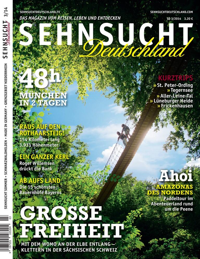 Magazin Sehnsucht Deutschland - 03/14