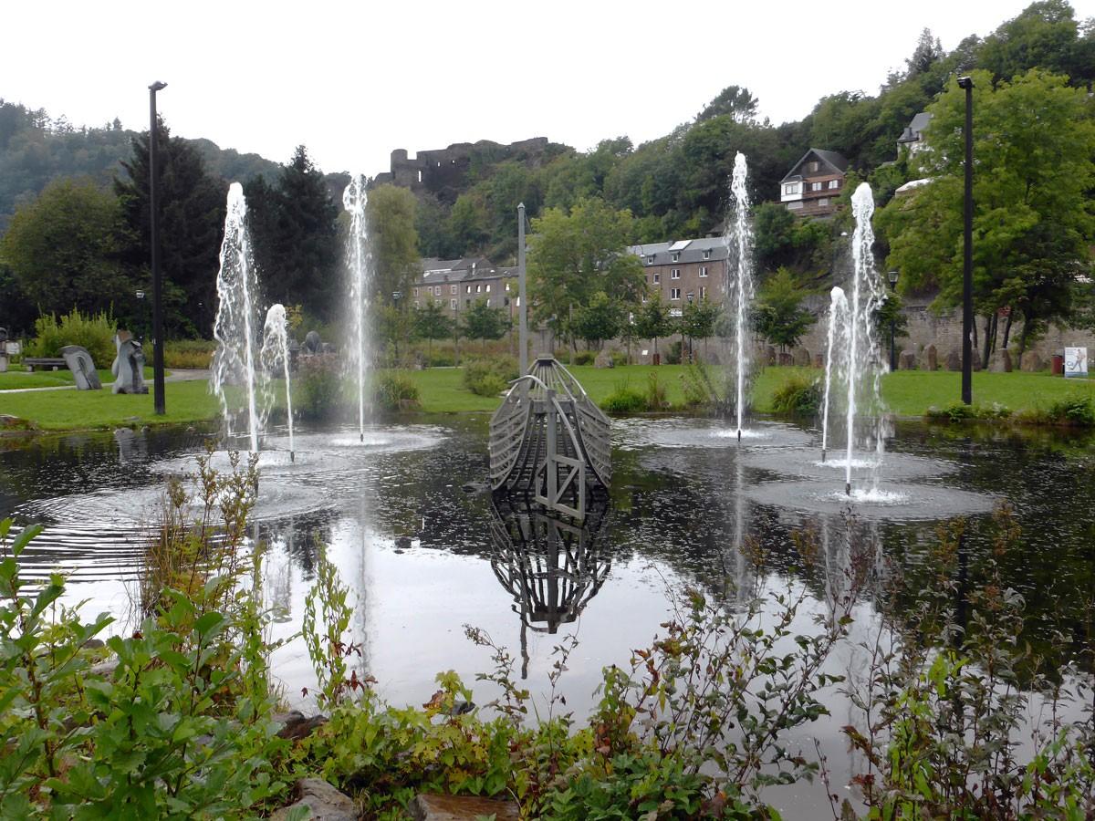 Wandern in den Ardennen - In La Roche-en-Ardenne