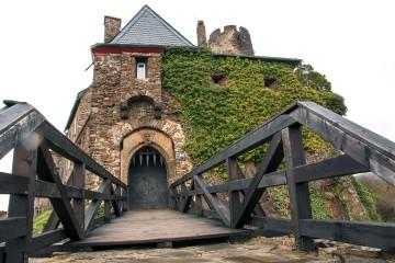 Sieht offen aus, ist aber zu: Burg Thurant