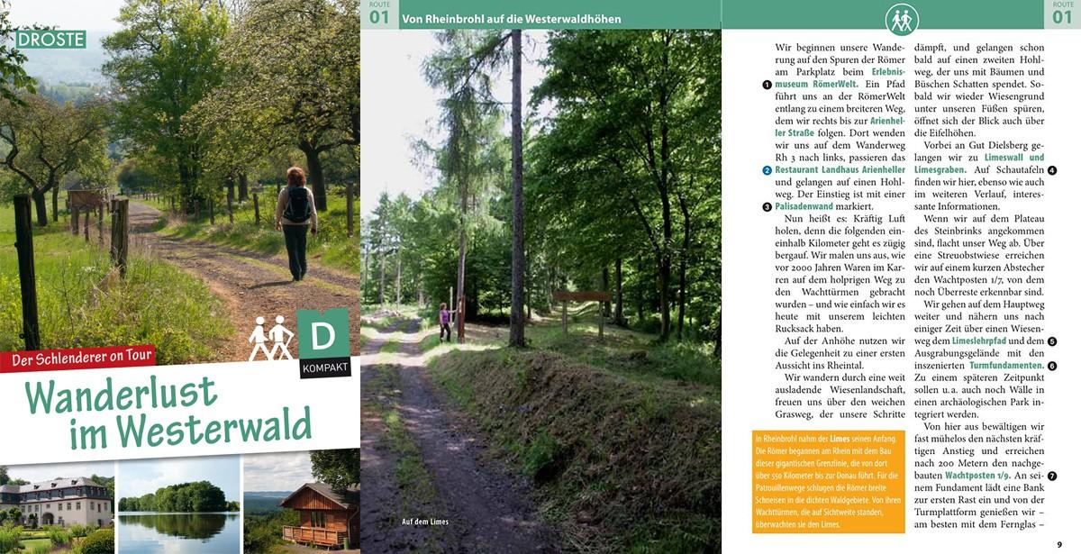 Wanderlust im Westerwald - Der Schlenderer on Tour