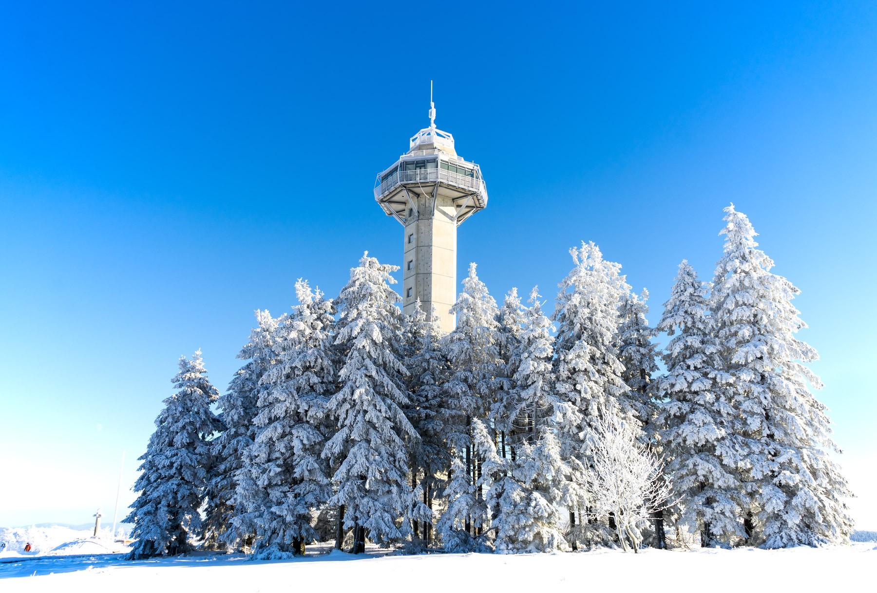 Winter auf dem Ettelsberg im Sauerland