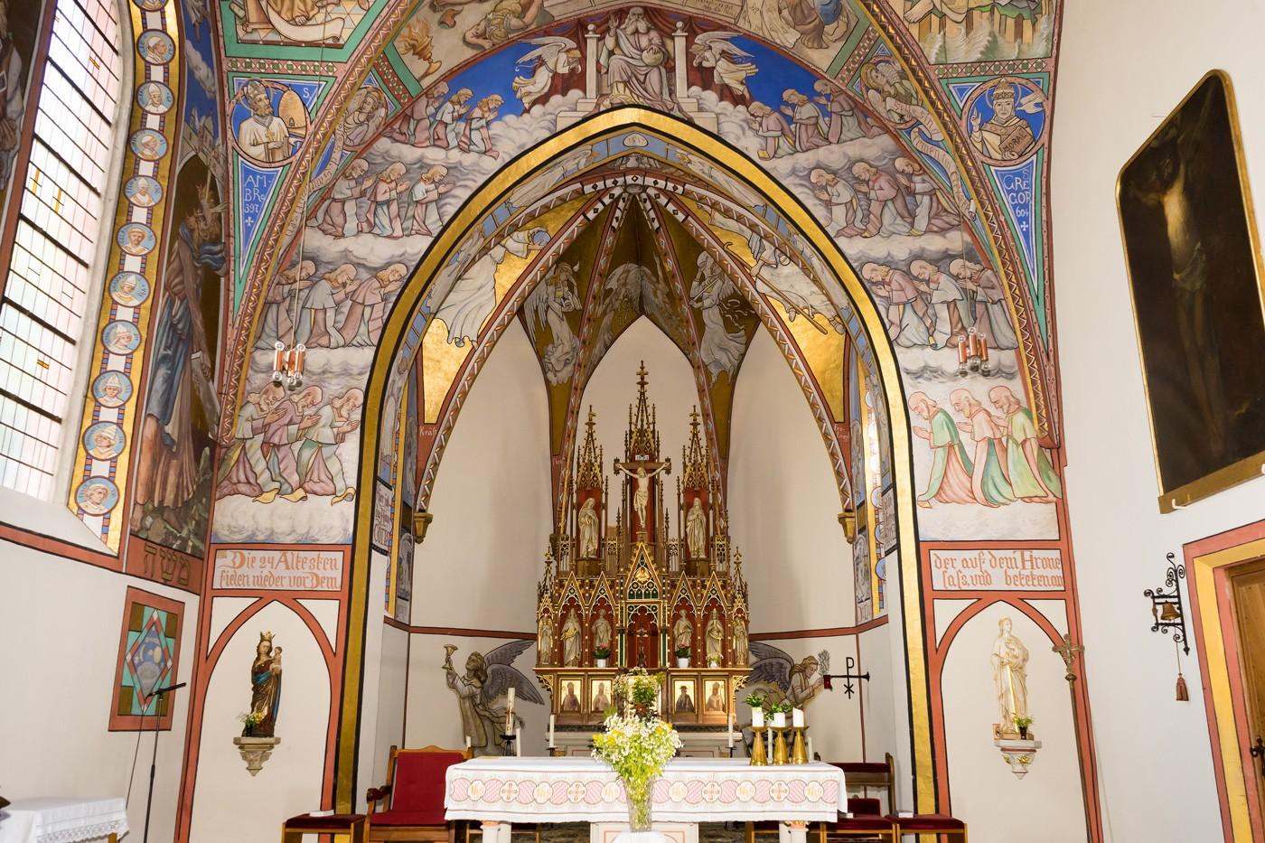 Kirche St. Luzia in Eschfeld