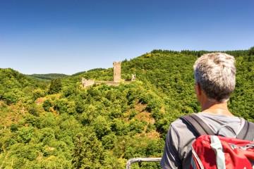 Blick auf die Oberburg