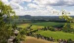 Elbsandsteingebirge mit Bastei