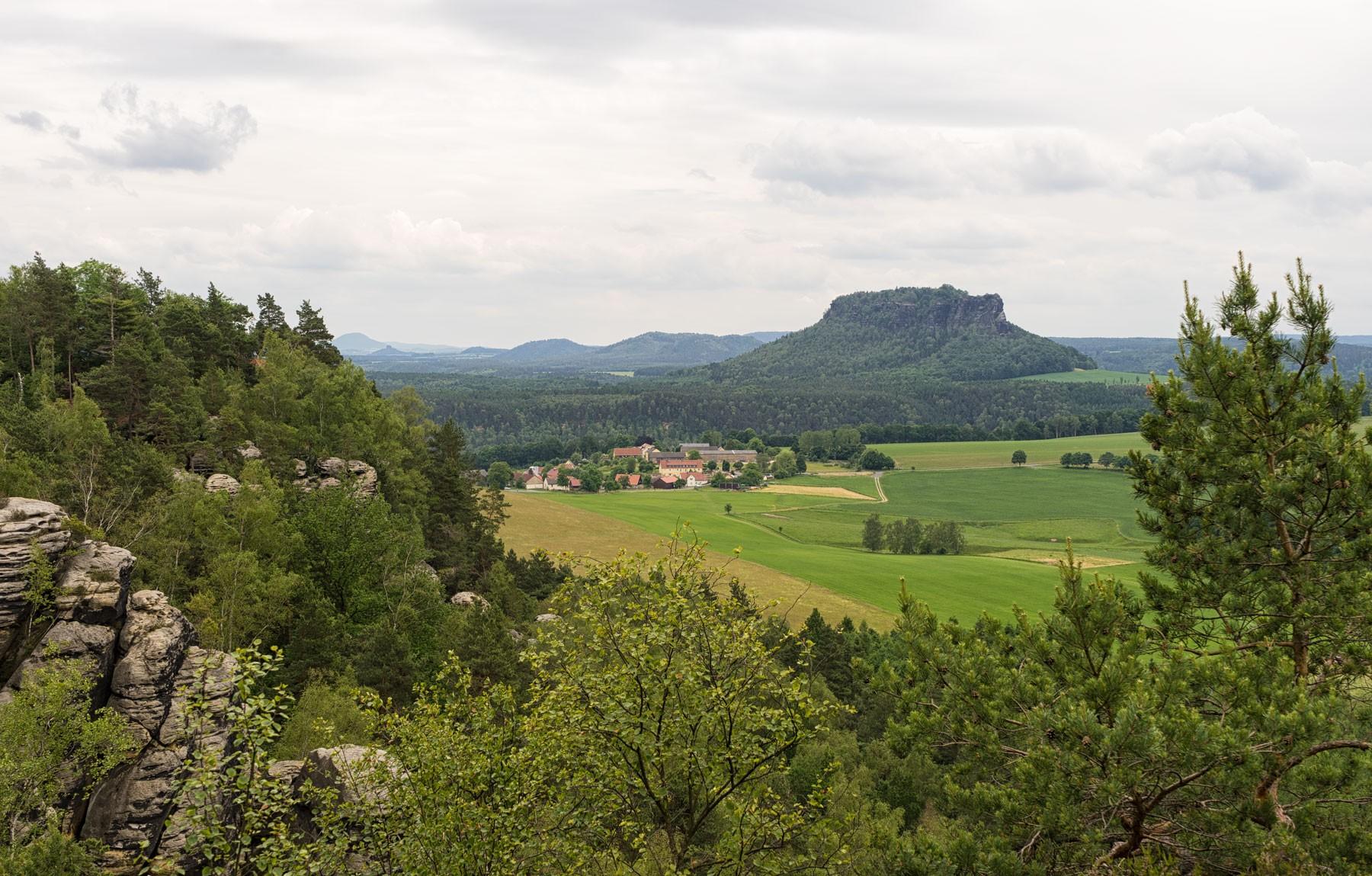 Elbsandsteingebirge und Elbresidenz