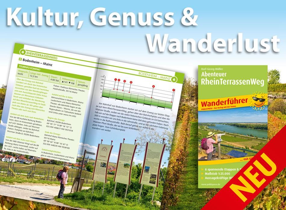 Mein Wanderführer »Abenteuer RheinTerrassenWeg«