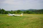 Segelfliegen in Blomberg