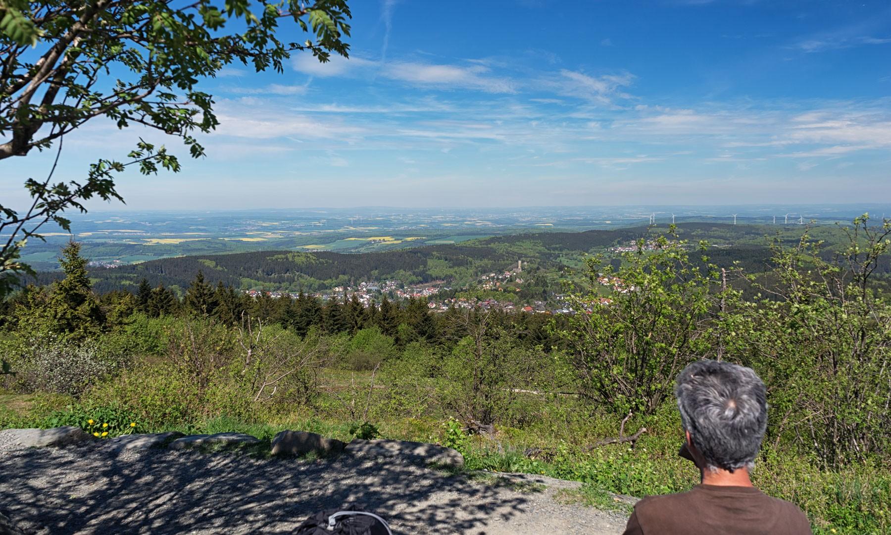 Auf dem Großen Feldberg im Taunus
