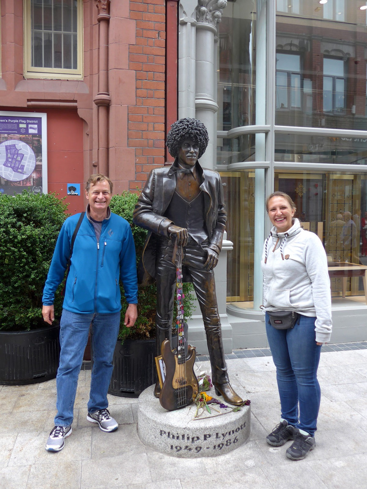Phil Lynott in Dublin