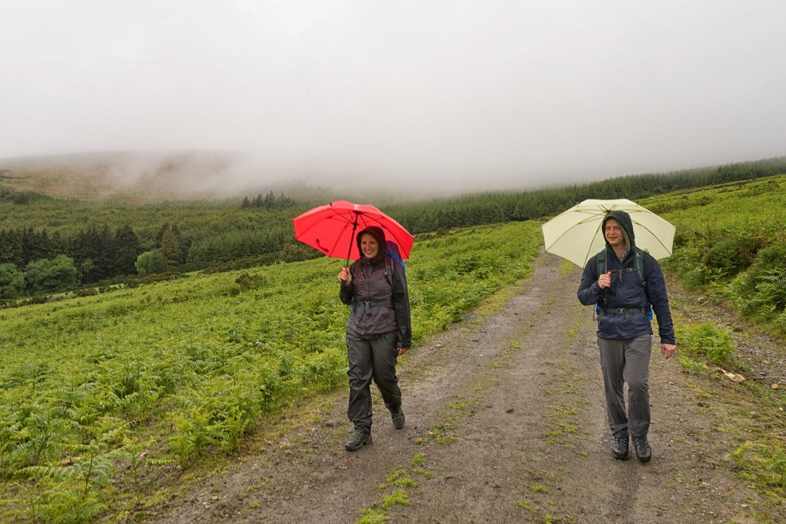 Regen in Irland