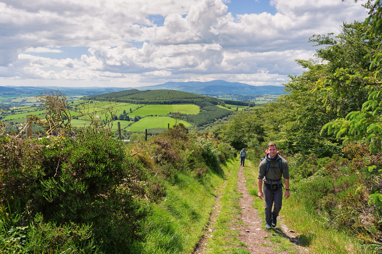 Wicklow Way von Clonegall nach Shillelagh