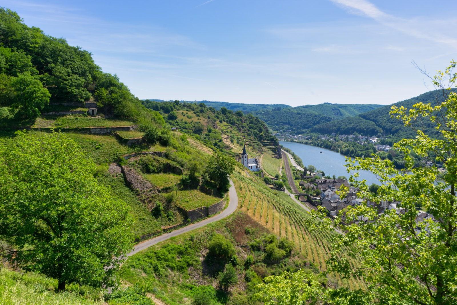 Hatzenport und Burg Bischofstein