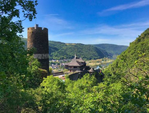 Hoch über der Mosel zwischen Hatzenport und Burg Eltz (I)