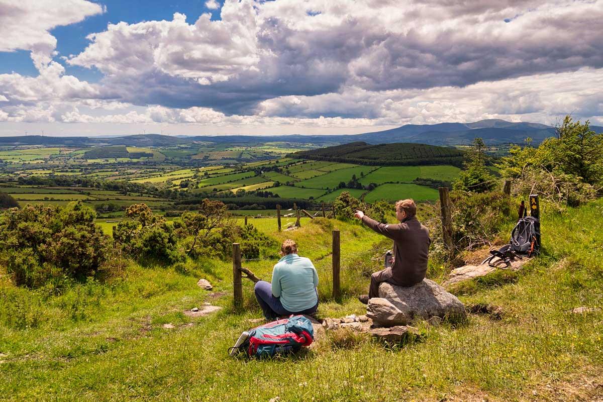 Wicklow Way von Clonegall nach Shillelagh
