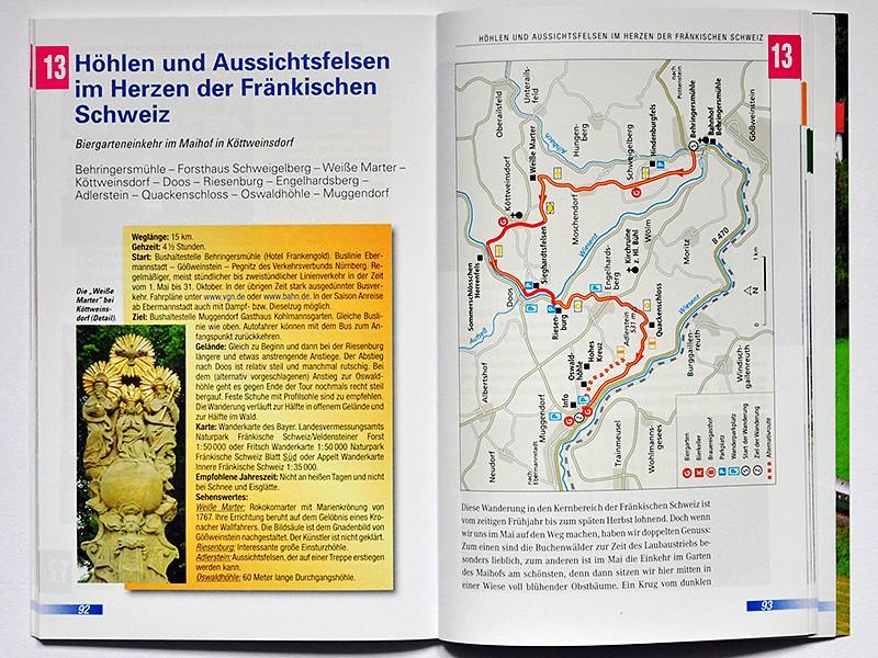 Biergartenwanderungen Fränkische Schweiz (Heinrichs)